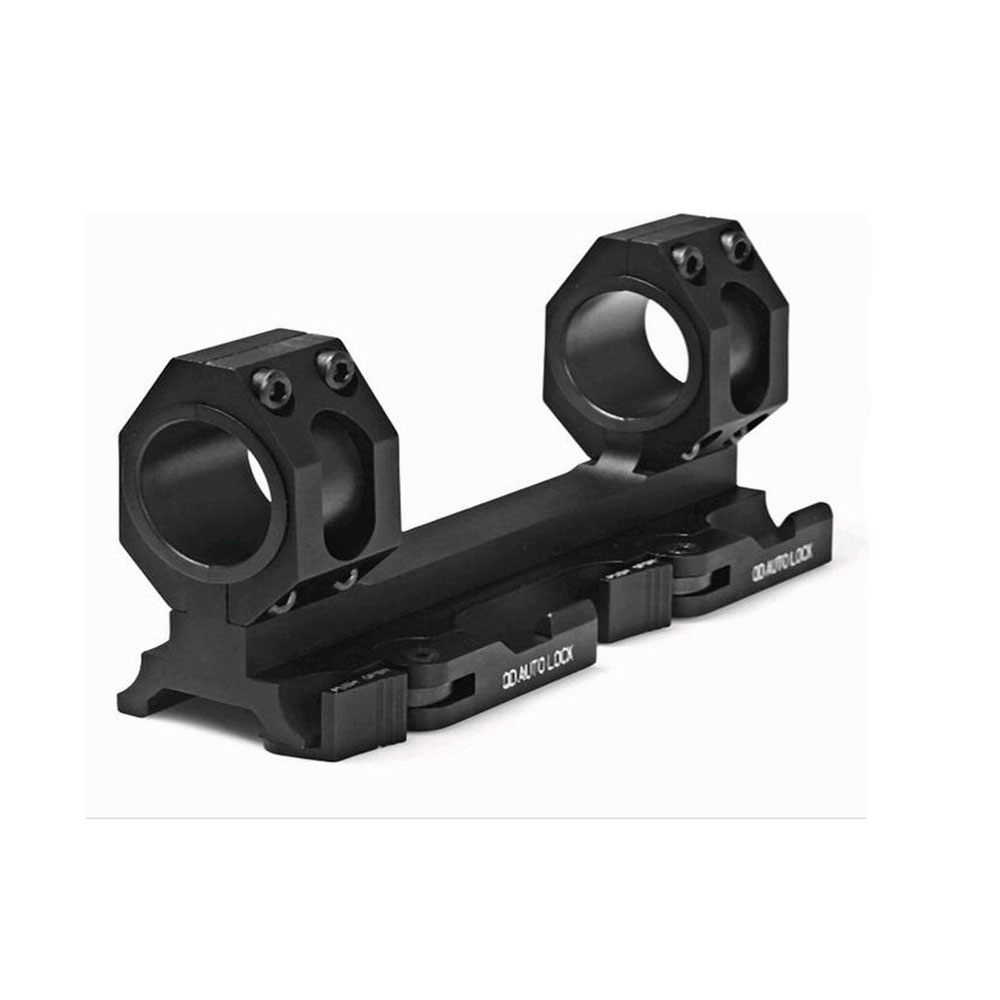 TENSDARCAM Tactical Dual Ring Cantilever Heavy Duty Scope Mount 25mm/30mm QD Auto Lock Adapter Picatinny Weaver heavy duty cantilever weaver forward reach 1 inch 30mm ring rifle scope mount optics 11mm rail picatiiny pistol carabina
