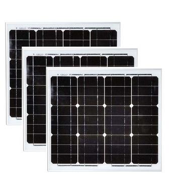 Solar Panel Monocrystalline 12v 30w 3 Pcs Panneaux Solaires 90w 48v Solar Battery Charger Solar Home Kit Caravan Car Camp LM