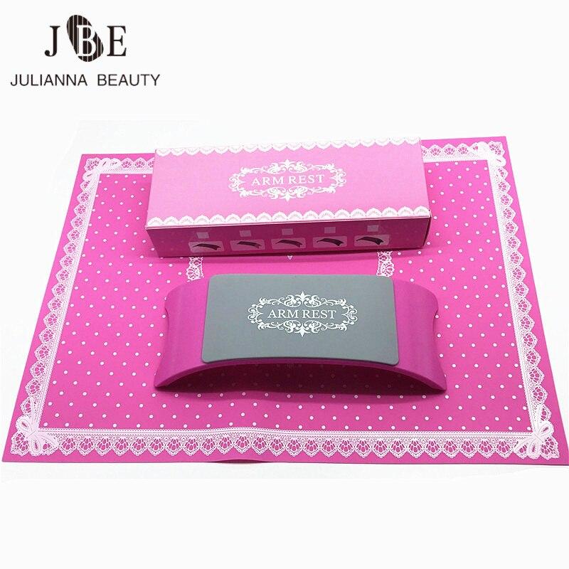 1 Satz Silikon Kissen Nette Hand Halter Spitze Welle Punkt Faltbare Ruht Fashion Waschbar Nail Art Salon Maniküre Werkzeuge Um 50 Prozent Reduziert