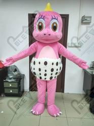 Розовый динозавр маскарадный костюм мультфильм Детские Дракон ходьба актер горячая распродажа синий дракон маскарадный костюм