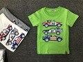 2017 nova moda de luxo da marca Itália projeto top crianças roupas de bebê menino verão curto-de mangas compridas t-shirt de alta qualidade para crianças tees