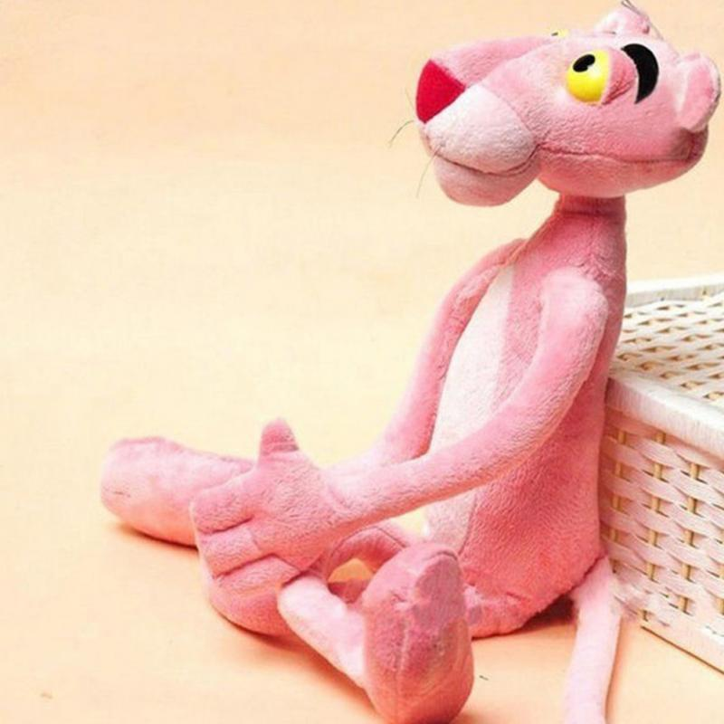 Lovely naughty pink panther stuffed toy child plaything gift plush doll 60cm Christmas Decoration
