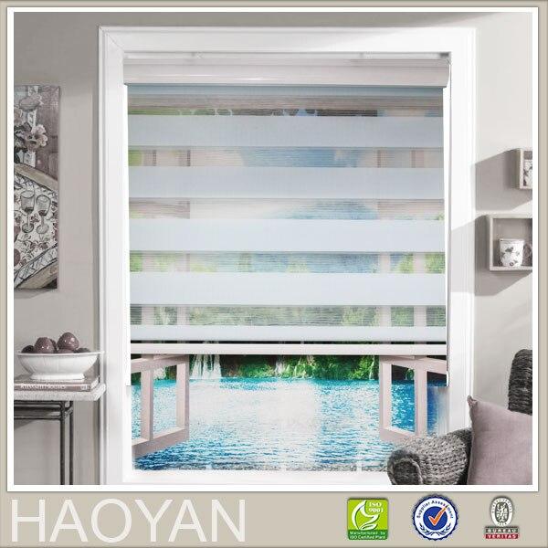 Fenster vorhang zebra rollos für küche wohnzimmer büro roller cortina 07 serie mit druck shipping