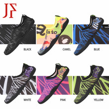 Men's casual shoes Summer beach outdoor wading shoes JF 2019 Surfing quick-drying water sports shoes Skin socks striped shoes 2018 women beach summer sandals outdoor wading shoes swimming slipper on surf quick drying shoes skin sock striped water