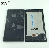 LCD Display Panel Screen Monitor Touch Screen Digitizer Glass Assembly With Frame For ASUS ZenPad C