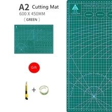A2 Cutting Mat A2 PVC Multipurpose Self Healing Cutting Mats DIY Tool Cutting Board Double-sided Durable Paper Mat a2 cutting mat multicolour cutting board cutting plate the self healing mat estera de corte
