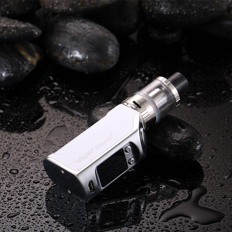 Vapeur Tempête mini 50 W Électronique Cigarettes Kit 1200 mah Contrôle De Température Électronique Narguilé shisha stylo Sous Ohm Énorme Vaporisateur kit