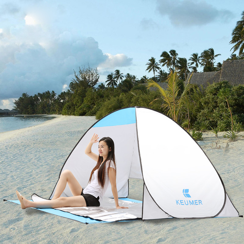 Summer Beach Tent Outdoor Portable Camping Tents ...