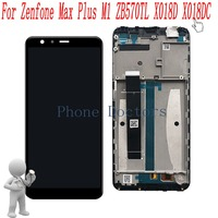 5 7 Inch Full LCD DIsplay Touch Screen Digitizer Frame Cover Assembly For Asus Zenfone Max