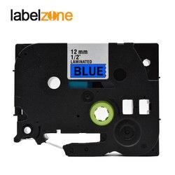 12mm czarny na niebieski Tze531 laminowane taśma z etykietami kompatybilny drukarek etykiet Brother p touch Tze 531 Tze 531 tz531 tz 531 tze taśmy|Taśmy do drukarek|Komputer i biuro -