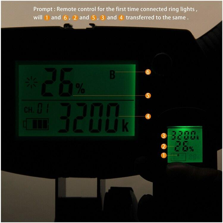 iluminação 96 w 5500 k 480 led luzes macro