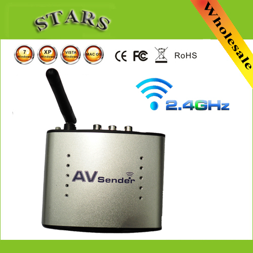 PAT-220 2.4G sans fil AV émetteur et récepteur Audio vidéo émetteur TV Signal récepteur IR Extender à distance 3 RCA PAT220