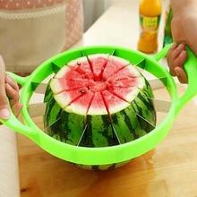 Hot Summer Gran Melón Sandía máquina de Cortar de la Fruta del Acero Inoxidable de la Cocina En Casa Herramientas Divisor Herramienta de la Cocina Conveniente