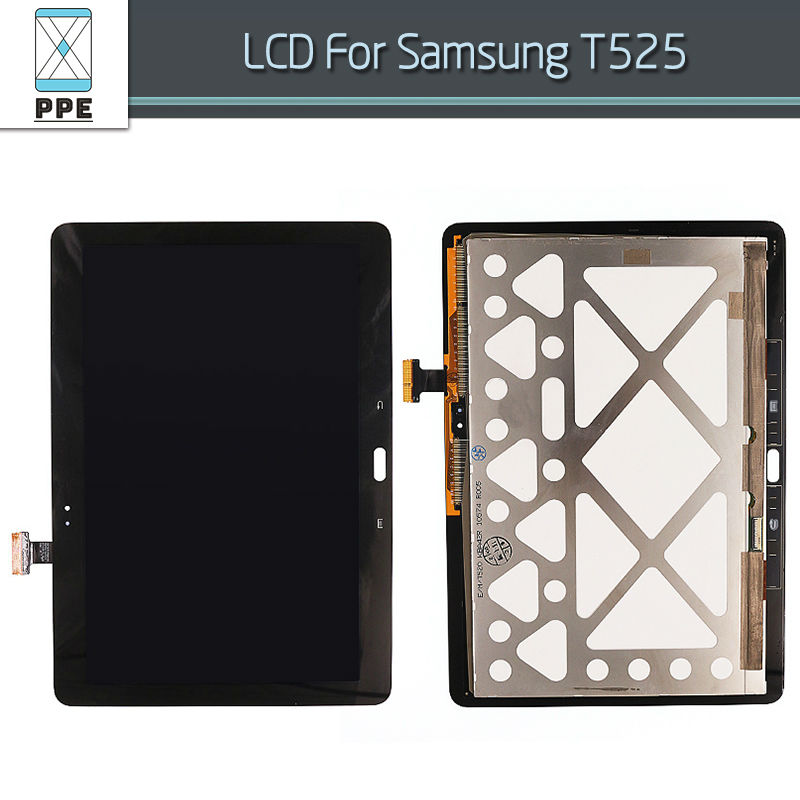 LCD Assembly For Samsung Galaxy Tab Pro 10.1 T520 T525 LCD Display Touch Screen Digitizer Complete Replacement Black White