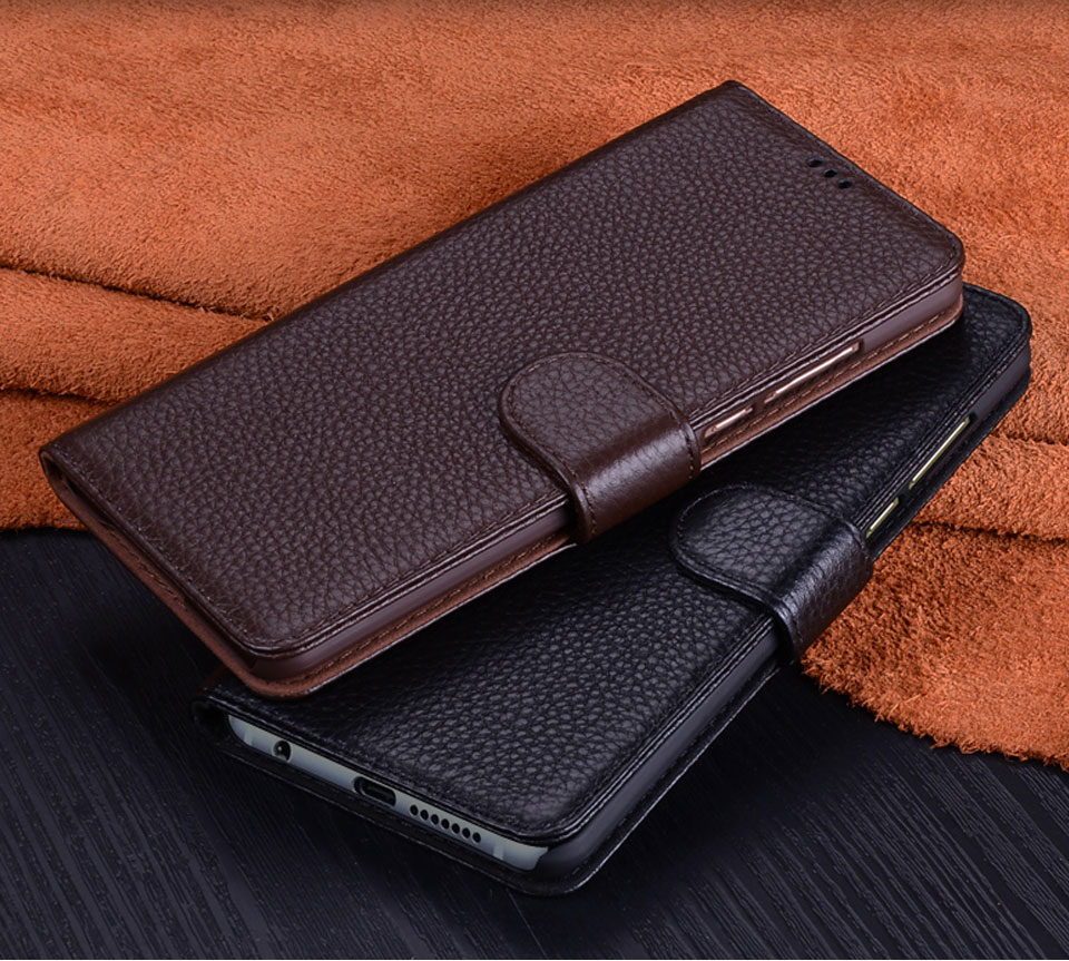 Flip Genuine Leather Case For Google Pixel 3 XL With Card Slot Kickstand Phone Case For Google Pixel 3 3 XL 6.3 Cases