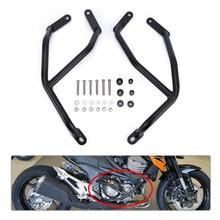 For Kawasaki Z900 Z900RS Z1000 Black Steel Motorcycle Engine Guard Crash Bar Protector Z800 2013 2014 2015 2016