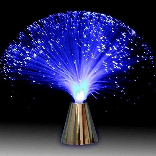 Разноцветная светодиодная оптоволоконная лампа освещение праздник свадьба центральный свет оптоволоконная светодиодсветильник лампа три 5 мм Светодиодная декоративная лампа для особых случаев