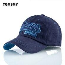 TQMSMY letras bordadas Hip hop hombres algodón Snapback gorras de béisbol  de las mujeres del sombrero c799961aa02