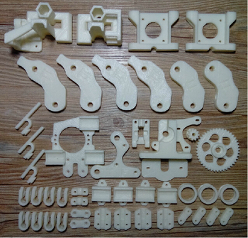 SWMAKER Reprap Prusa Mendel i2 3D printer printed parts kit/set ABS free shipping