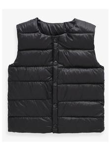 Kids Vest Waistcoat Soft Boys Winter Girl Sleeveless Children Angel for Solid Round Collar