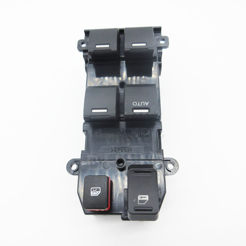 Electric Power Window Lifter Master Control Switch for Honda CRV CR V 2007 2011 35750 SWA