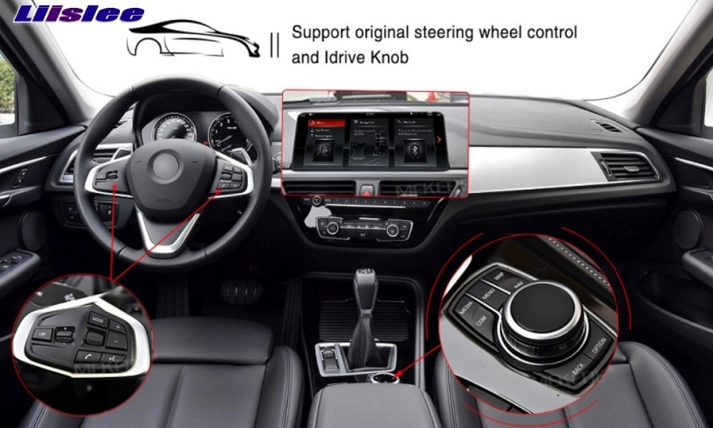Liislee Navi For CarPlay 10.25 DABDAB+ 2G RAM For BMW X1 E84 2009-2015 Original NBT EVO System Car Multimedia GPS Navigation 16