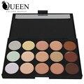 Profissional 15 cores corretivo paleta de contorno pó facial AC15