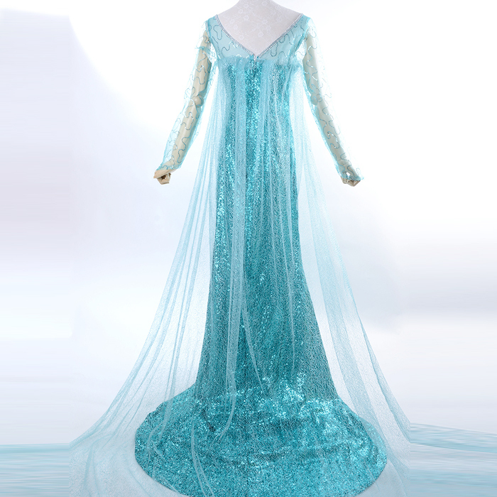 elsa costume adult princess elsa dress cosplay halloween costumes for women snow queen cosplay Party Formal Dress blue-in Holidays Costumes from Novelty ...  sc 1 st  AliExpress.com & elsa costume adult princess elsa dress cosplay halloween costumes ...