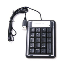 CAA Hot Superior Practical Convenient Portable USB Numeric Keypad PC for Laptop Noteboo