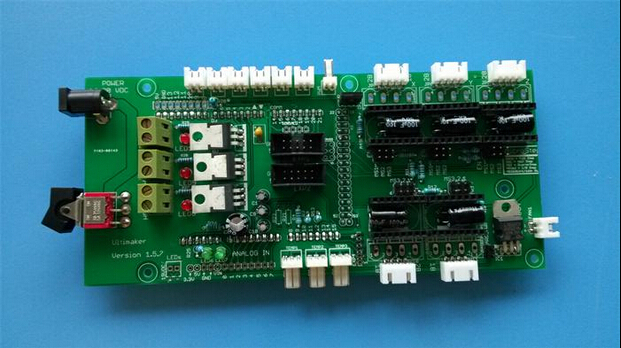 3 D printer accessory Ultimaker mainboard 1.5.7 version supports Marlin firmware top quality free shipping
