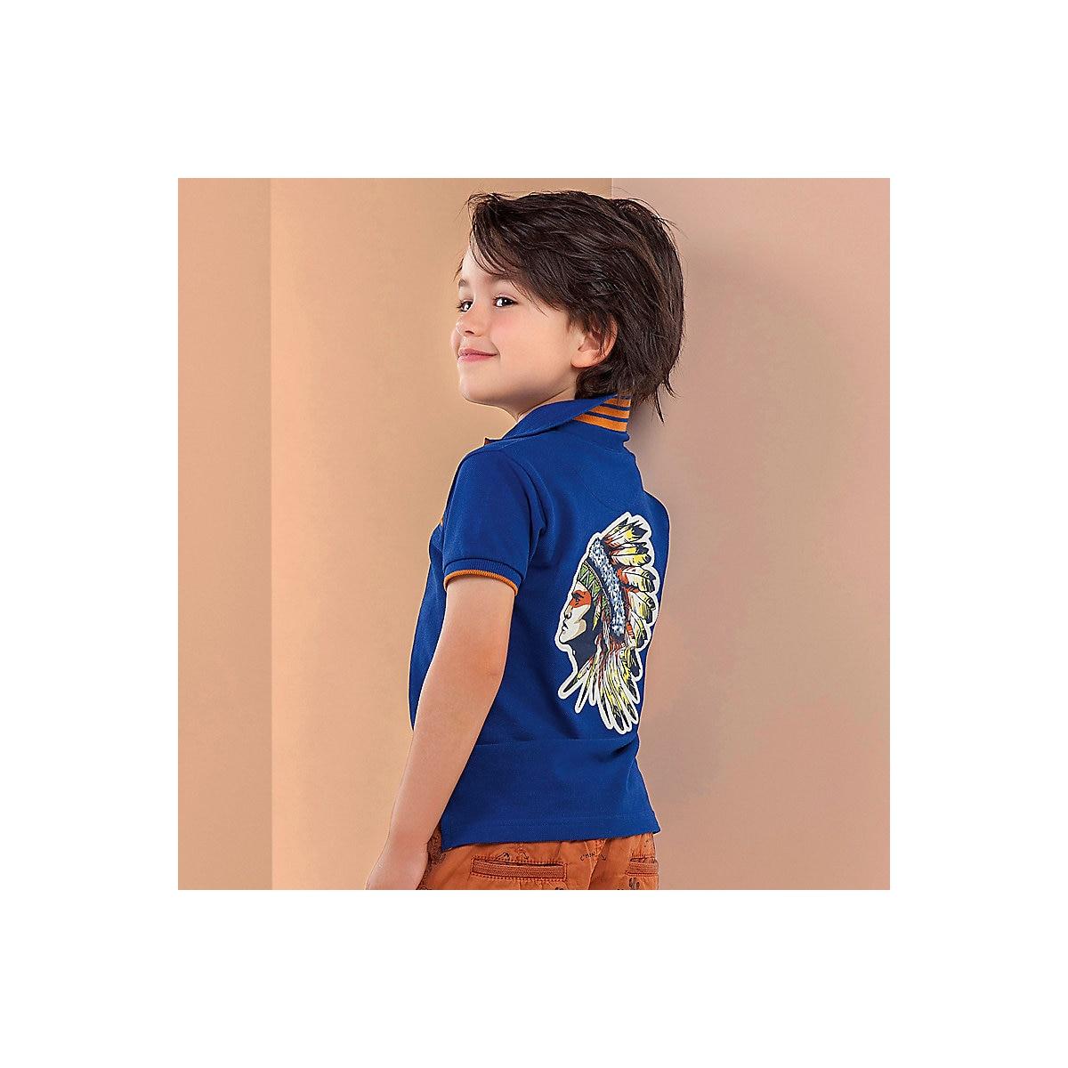 MAYORAL Polo Shirts 10685209 children clothing t-shirt shirt the print for boys tiger 3d print basic t shirt