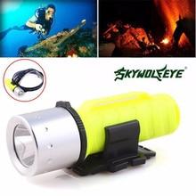 Bicycle Bike Light  3500LM XM-L T6 LED Scuba Diving Flashlight Torch Lamp Underwater 60M Waterproof Anti Abrasive Skid Proof