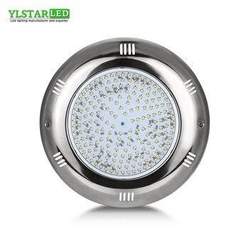 YLSTAR 198 sztuk/270 sztuk SMD2835 led chip LED na bazie żywicy basen z włókna szklanego światła do montażu na ścianie lampa basen AC /DC12V IP68 20 W 30 W w Lampy podwodne LED od Lampy i oświetlenie na