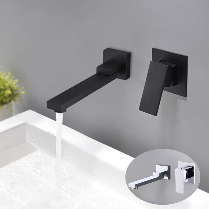 Bathroom Wall Mounted Rubinetto Del Bacino Rotativo Valvola di Vasca ...