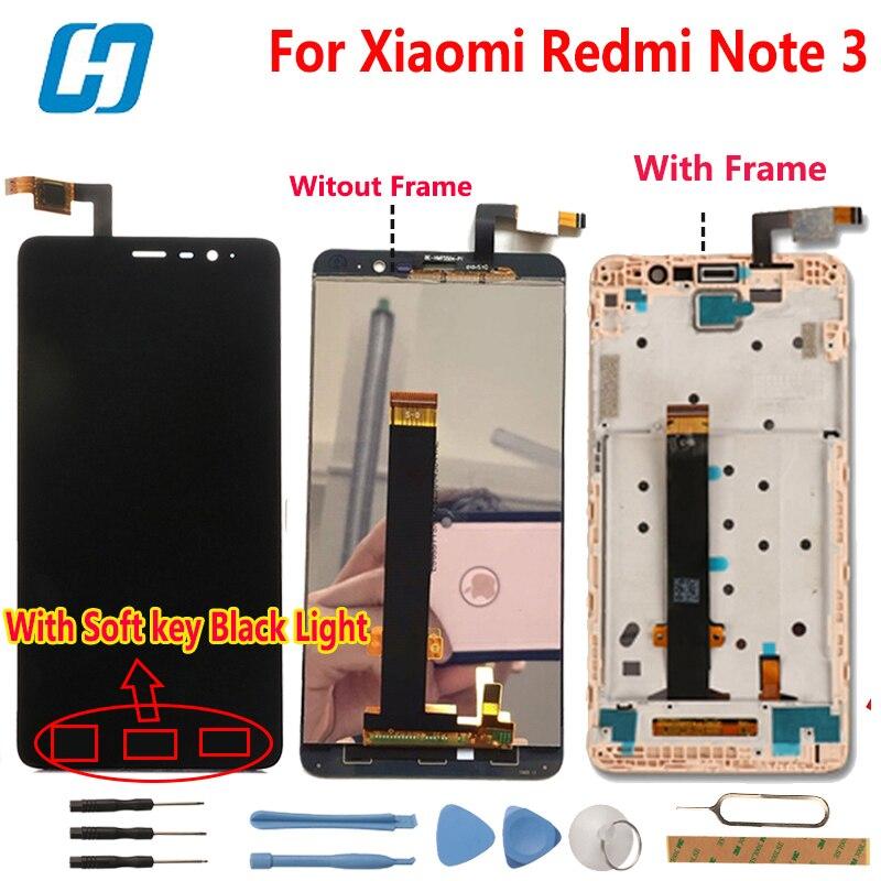 Xiaomi Redmi Note 3 LCD Display + Touchscreen Digitizer Glasscheibe montage Bildschirm Für Xiaomi Redmi Hinweis 3 Pro Prime FHD 5,5''