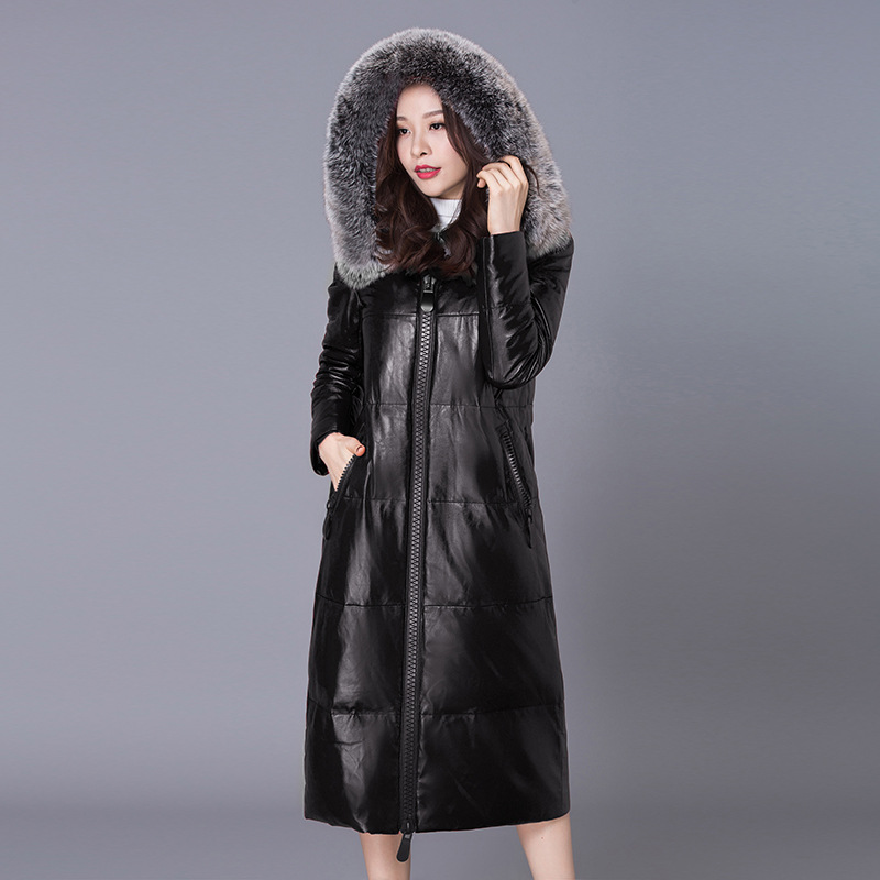 New winter women's down jacket High imitation fur leather overcoats maternity winter clothing pregnancy jacket warm clothing