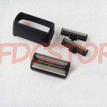 2X Kesici Bıçak kafa ve 1X Folyo Ekran Çerçevesi Philips Norelco TARAK Tıraş Makinesi Kafa Jilet QS6141 QS6161 BALDER KESME ÜNITESI