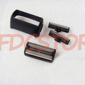 Image 1 - 2X Kesici Bıçak kafa ve 1X Folyo Ekran Çerçevesi Philips Norelco TARAK Tıraş Makinesi Kafa Jilet QS6141 QS6161 BALDER KESME ÜNITESI