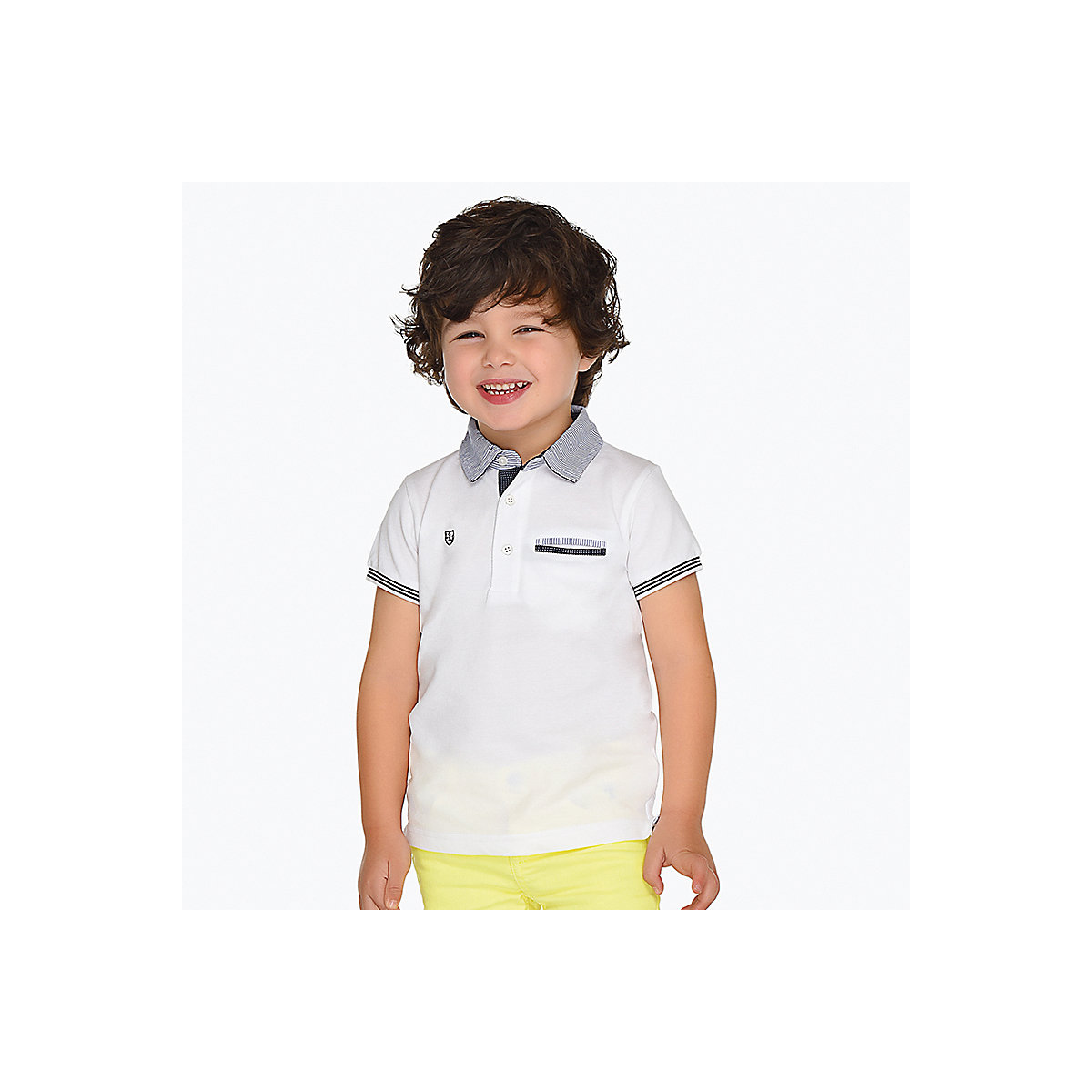 T-Shirts MAYORAL 10691204 Children sClothing T-shirt with short sleeves polo shirt for boys and girls black cold shoulder short sleeves t shirts