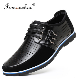 Image 1 - 2019 Men casual shoes flat fashion comfortable luxury male shoes adult #GY3595