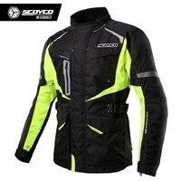 Scoyco JK42 Для мужчин Мотокросс езда куртка мотогонок куртки ceket мото Броня jaqueta Шестерни Спорт Защитная одежда
