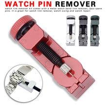 Watch Link For Band Slit Strap Bracelet Chain Pin Remover Adjuster Repair Tool Kit Watch Meter Adjuster все цены