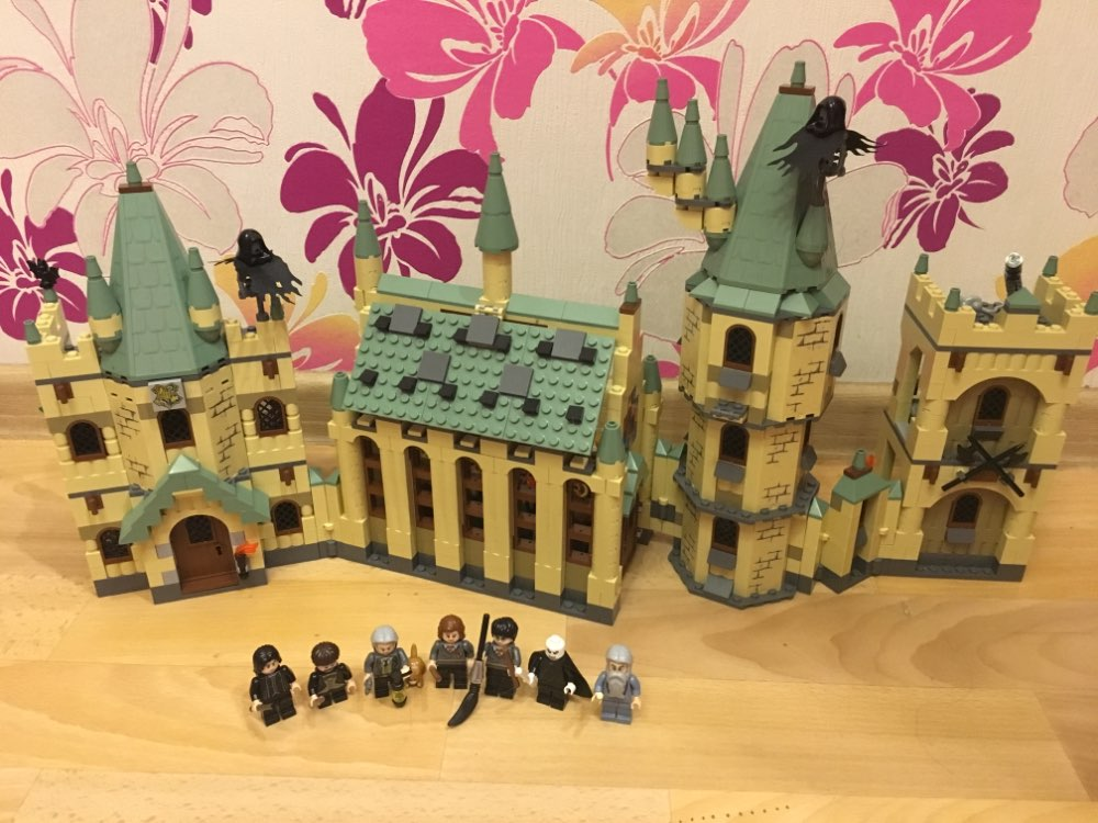 The Hogwarts Castle Set 1340Pcs Creative Movies Series Model Building Block Children Toy Gift Compatible with Legoing