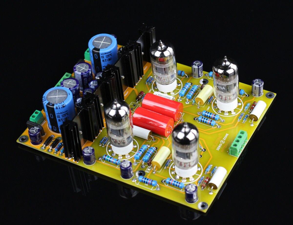 GZLOZONE (kit de bricolage) PRT05A carte de préampli à lampes Hifi base sur Circuit conrad-johnson CL L3-23