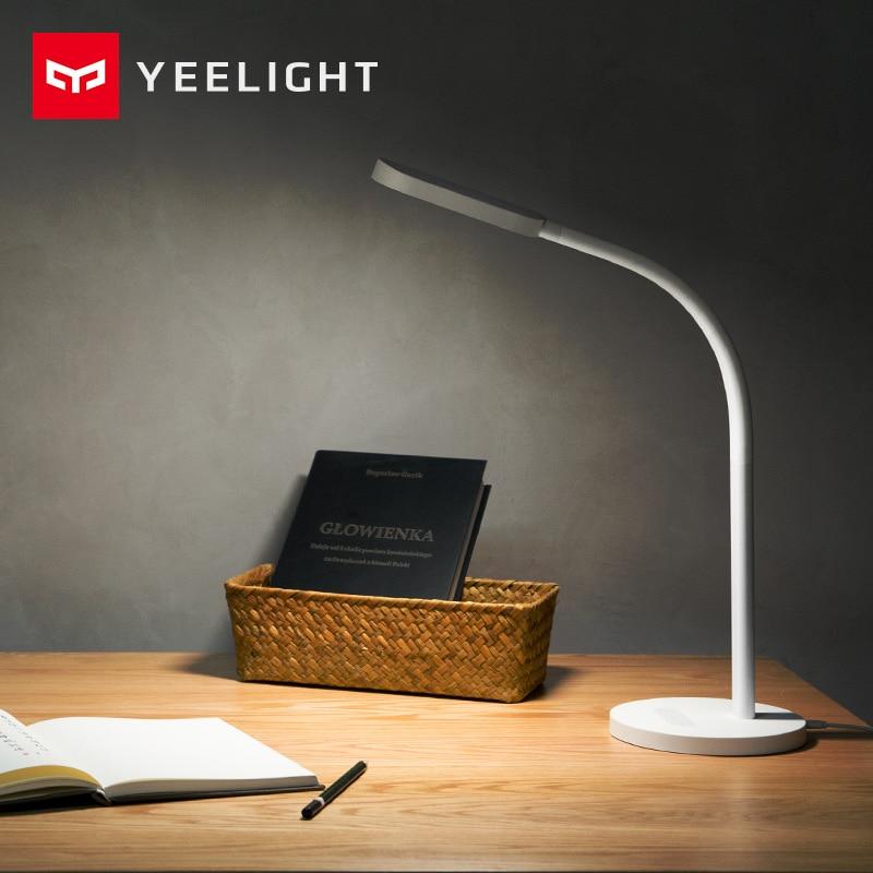 Original Xiaomi Yeelight mijia Led desk lamp Smart Folding touch Adjust Color Temperature Brightness For xiaomi mi smart home датчик температуры и влажности xiaomi mi smart home temperature