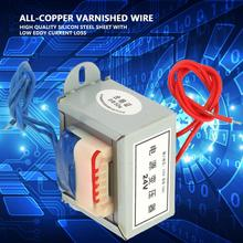 цена на 220V-24V 50W 50Hz Power Transformer Low Frequency Isolation Single Power Transformer EI Type Core Isolation Transformer