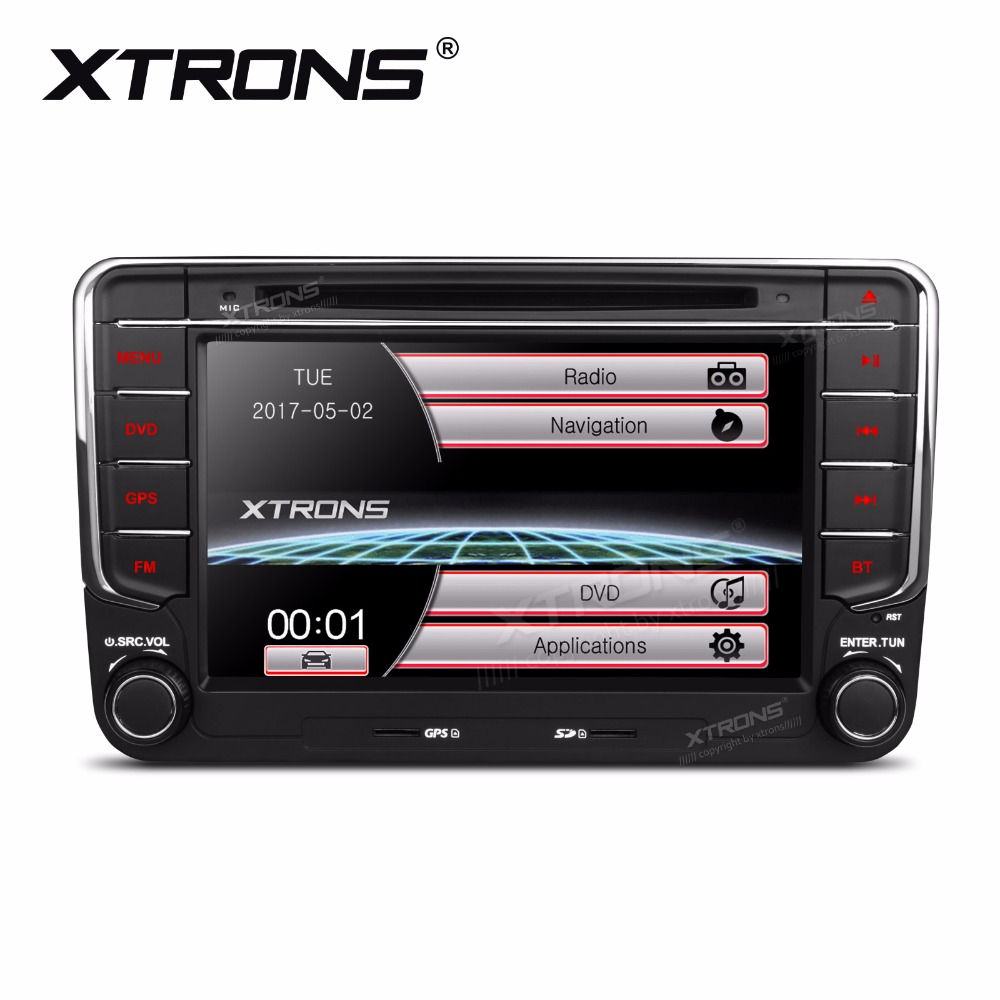 Xtrons 7 Car Dvd Player 2 Din Gps Navigation Radio For