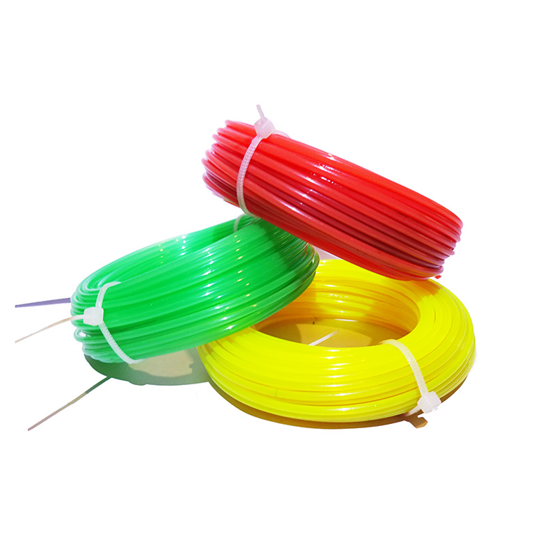 Professional Fine Quality 2.0mm 15m Mowing Nylon Trimmer Rope Brush Grass Cutter Trimmer Line Mowing Wire Lawn Mower Accessory