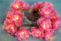 Creative Romantic small Flower LED String Light 5m Halloween Decorative Light Christmas Wedding Background Ambiance Light