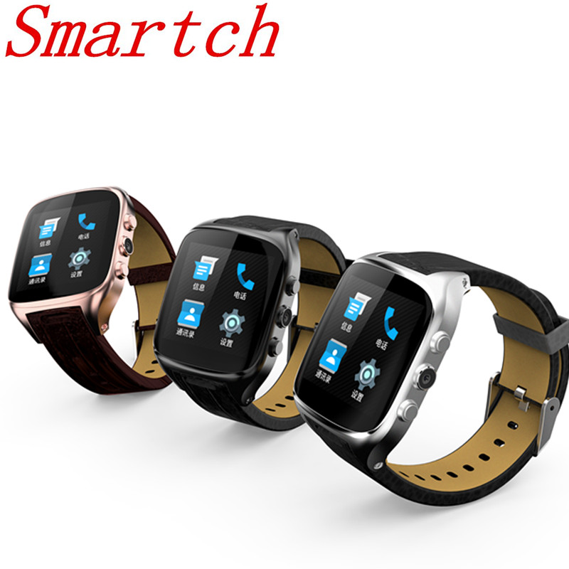 Smartch Android 5.1 Smart Watches X01s MTK6580 ROM8GB+RAM512 Bluetooth4.0 SmartWatch with GPS+3G+WiFi+GPRS Clock for Android Pho